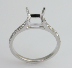 18kt Diamond Engagement Ring by C. Gonshor
