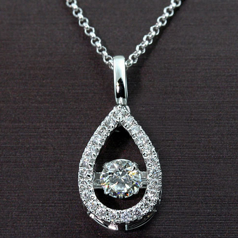 14kt Dazzling Collection Diamond Pendant