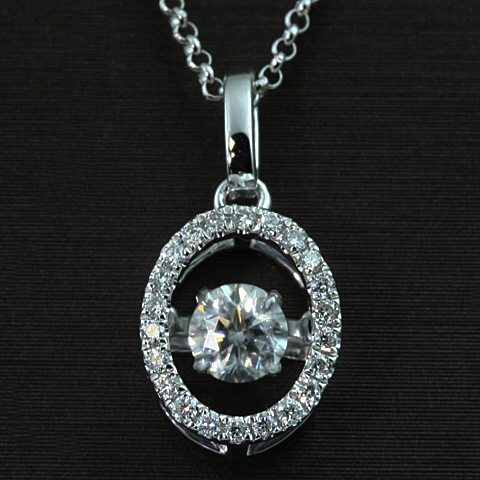 18kt Dazzling Collection Diamond Pendant