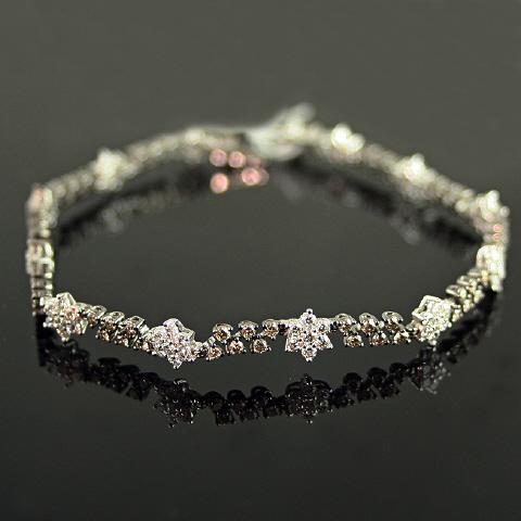 18kt Chocolate Diamond Tennis Bracelet