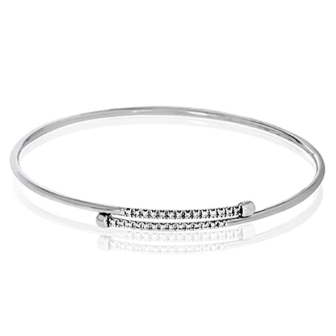18kt Bangle Bracelet by Simon G